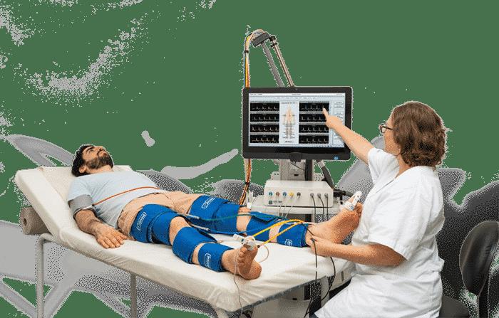 Ankle Brachial Index using AB Testing Equipment
