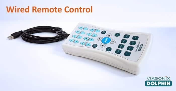 Wired Remote Control for Dolphin Transcranial Doppler Systems