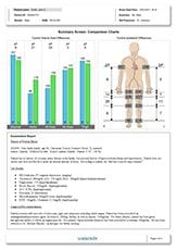 Example of a peripheral vascular diagnosis report - page 4